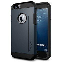 """Чехол-накладка для Apple iPhone 6, 6s 4.7"""" (Spigen Slim Armor S Series SGP10955) (металлический)"""