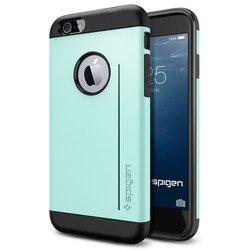 """Чехол-накладка для Apple iPhone 6, 6s 4.7"""" (Spigen Slim Armor S Series SGP10960) (мятный)"""