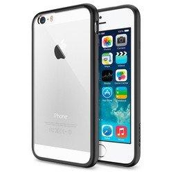 "Чехол-бампер для Apple iPhone 6, 6s 4.7"" (Spigen Ultra Hybrid SGP10952) (черный)"