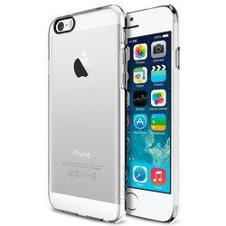 "Чехол накладка для Apple iPhone 6, 6s 4.7"" (Spigen Thin Fit Series SGP10939) (прозрачный)"