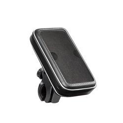 """Вело-мото держатель Deppa Crab Bike M для смартфонов 3.5""""-4.3"""" (черный)"""