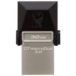 Kingston DataTraveler microDuo 3.0 32GB (черный)