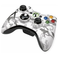 microsoft xbox 360 wireless controller arctic camouflage