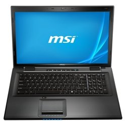 "msi cr70 2m (pentium 3560m 2400 mhz/17.3""/1600x900/4.0gb/500gb/dvd-rw/intel gma hd/wi-fi/bluetooth/dos)"