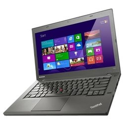 "lenovo thinkpad t440 (core i5 4200u 1600 mhz/14.0""/1366x768/4.0gb/1000gb/dvd нет/intel hd graphics 4400/wi-fi/bluetooth/win 8 64)"
