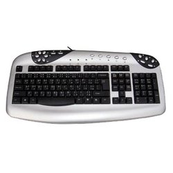 D-computer KB-M823 Silver PS/2