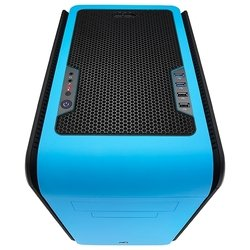 aerocool dead silence cube blue window edition