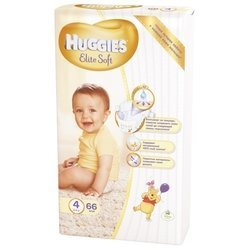 Huggies Elite Soft 4 (8-14 кг) 66 шт.