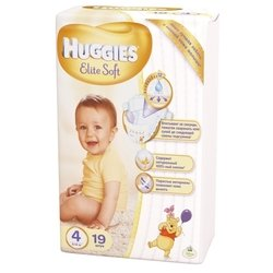 Huggies Elite Soft 4 (8-14 кг) 19 шт.