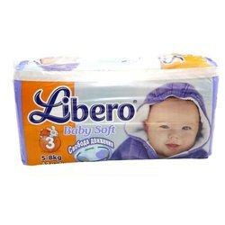 Libero Baby Soft 3 (5-8 кг) 42 шт.