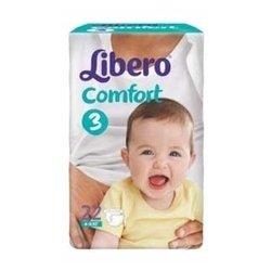 Libero Comfort 3 (4-9 кг) 22 шт.