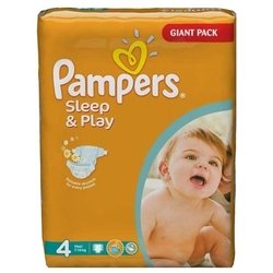 Pampers Sleep&Play 4 (7-14 кг) 50 шт.