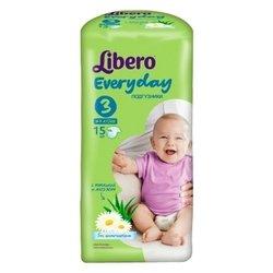 Libero Everyday 3 (4-9 кг) 15 шт.