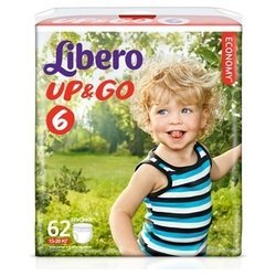 libero up & go 6 (13-20 кг) 62 шт.