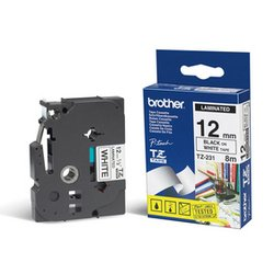 ��������� �������� ��� brother p-touch (tz231) (������ ����� �� ����� ����) (12 ��)