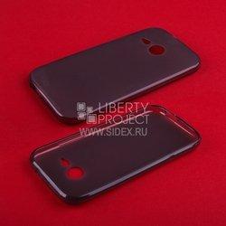 Силиконовый чехол-накладка для HTC One mini 2 (TPU Case R0005102) (черный)