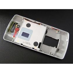 Задняя панель корпуса для Nokia 700 в сборе (CD124693) (серебристый)