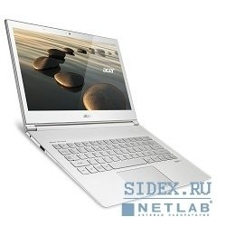 "ноутбук acer aspire s7-392-74508g25tws core i7-4500u, 8gb, 256gb ssd, int, 13.3"", wqhd+, touch, 1920x1080, win 8 single language 64, white, bt4.0, 4c, wifi, cam[nx.mbker.005]"
