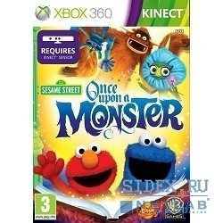 игры sesame street: once upon a monster (только для ms kinect)