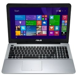"asus x555ln (core i3 4010u 1700 mhz/15.6""/1366x768/4.0gb/320gb/dvd-rw/wi-fi/bluetooth/win 8 64)"