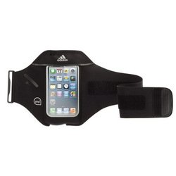 чехол на руку для apple iphone 5, 5s, se griffin adidas micoach armband (gb36062) (черный)