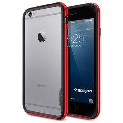 "Чехол-бампер для Apple iPhone 6, 6s 4.7"" (Spigen Neo Hybrid EX Series SGP11025) (красный)"
