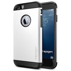 """Чехол-накладка для Apple iPhone 6, 6s 4.7"""" (Spigen Slim Armor Series SGP10957) (белый)"""