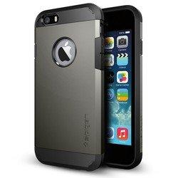 """Чехол-накладка для Apple iPhone 6, 6s 4.7"""" (Spigen Tough Armor SGP11022) (стальной)"""