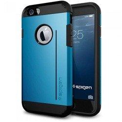 """Чехол-накладка для Apple iPhone 6, 6s 4.7"""" (Spigen Tough Armor S Series SGP11041) (голубой)"""