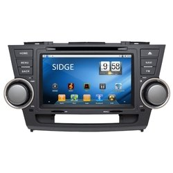 sidge toyota highlander android 2.3