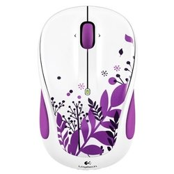 logitech wireless mouse m325 purple peace purple-white usb