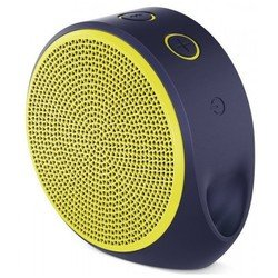 Logitech X100 Mobile Wireless Speaker (фиолетовый - желтый)