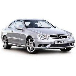 mercedes clk-class coupe ii 55 amg