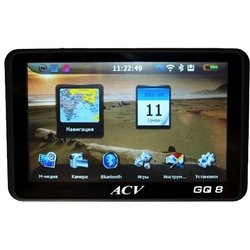 ACV auto GQ8 + microSD 4 Гб (черный)