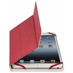 """Универсальный чехол-книжка для планшетов 7-8"""" (Riva 3122) (белый, красный)"""