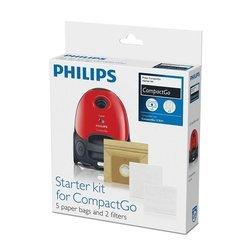 Пылесборник 5 шт + микрофильтр + моторный фильтр для Philips FC8291 (FC 8018/01)