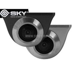 Камера заднего вида на боковое зеркало (SKY CA-UNI-11S) (серебристый)