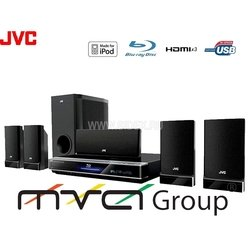 Дом.кинотеатр JVC TH-BD50EE (5.1 Mpeg4;VCD;WMA;MP3;Jpeg; 830ВТ;Blu-ray;USB)