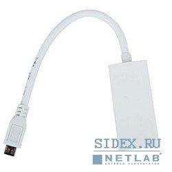 Кабель-переходник microUSB (M) - HDMI (F) 0.2m (VCOM CG615)
