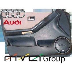 Подиум в двери для Audi 80 (02-010) (черный)