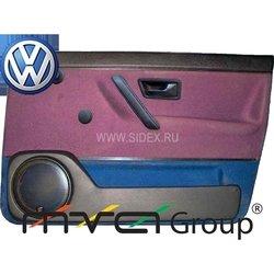 Подиум в двери для VW Golf 2 (02-011) (черный)