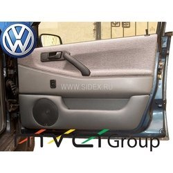 Подиум в двери для VW Passat B3 (02-009) (черный)