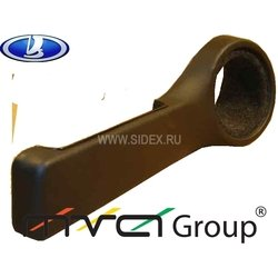 Подиум в двери для ВАЗ 2101-07 (02-001-01) (черный)