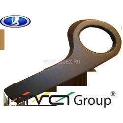 Подиум в двери для ВАЗ 2113, 14, 15 (02-015) (черный)