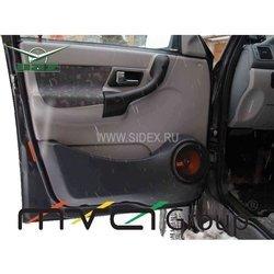 Подиум в двери для УАЗ Патриот (02-007-01) (черный)
