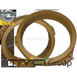 Проставки под динамики 16 см для Opel (004-02-01)