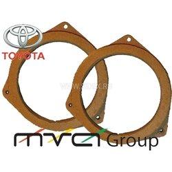 Проставки для Тойота под динамики 16 см (004-07-01)