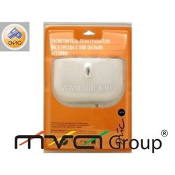 ������������ ������������� 3 ������ � ���������� + USB ACE300W 21532