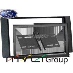 ACV PR34-1063 Ford FocusII, C-Max, Fiesta, Fusion, Transit, S-Max (05->) переходная рамка 2 din