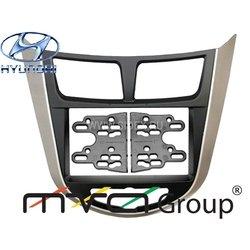 Переходная рамка для Hyundai Solaris (10->) (ACV PR34-1072)
